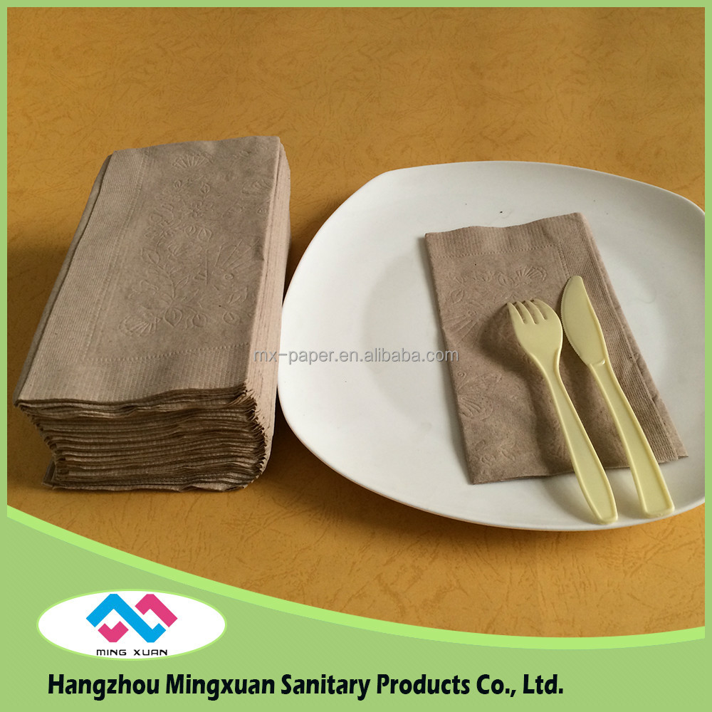 2016 Hot sale low price 5 star hotel napkins ,Disposable Paper napkins