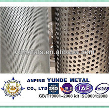 ss304/316 perforated metal roll