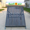 India Solar + Oil fired water heater Cost