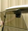Ymh G22 Golf Cart Folding Windshield (Clear) - 2003 to 2007