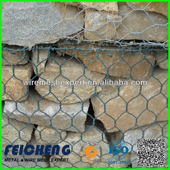 ASTM A975 standard galvanized welded mesh gabion for temporary/permanent dams