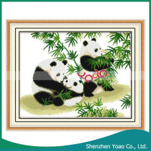 alibaba china panda patroon groothandel diy cross stitch kit
