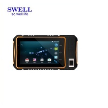 ALL BRAND 10.1 inch Rugged Window Tablet PC with Integrated Barcode Scanner NFC Fingerprint RJ45 LAN Port RS232 Industrial