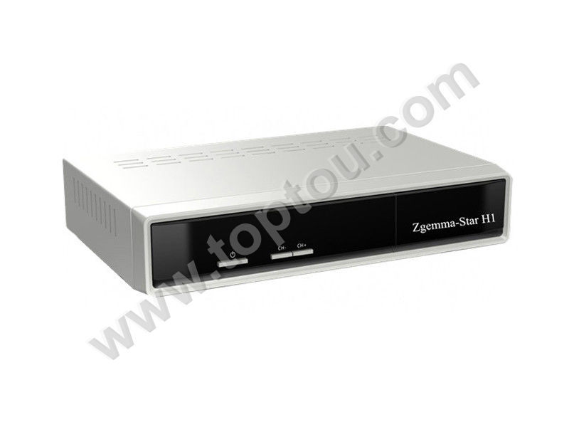 New Model Zgemma-star H1 twin tuner dvb-s2+dvb-c enigma2 satellite tv receiver with Dolby Digital