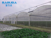 low cost 180\200 micron polythene film vegetable greenhouse