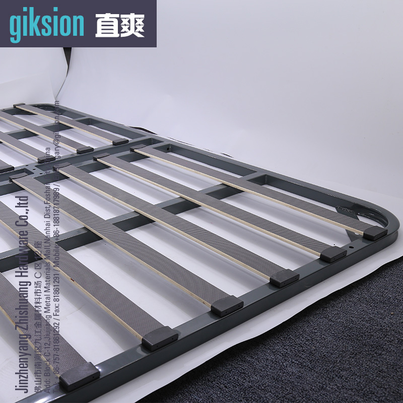 (ZS912#) Metal bed slat holders for platform bed base