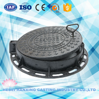 Top quality most popular ductile iron manhole cover/cast iron manhole cover