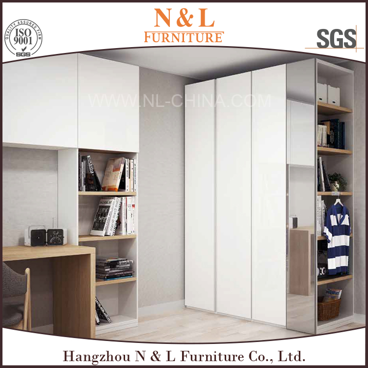 2014 new profitable assemble bedroom portable wardrobe closet, wardrobes with dressing table, portable wooden wardrobe