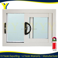 Australian AS1288 standard certified double glazed windows/price of aluminium sliding window/commercial glass windows
