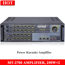 High quality 250W sound stereo mixing amplifier for Vietnam market