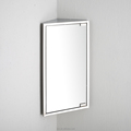 Wholesale Bathroom Sanitary Ware Storage Corner Mirror Cabinet 7023