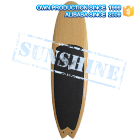 Epoxy Rescue Surfboards with handles and fins