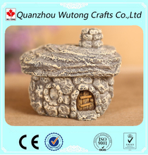 hot sale handmade miniature cheap resin souvenir house buildings