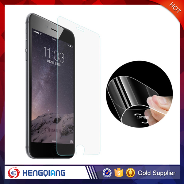 Mobile phone accessory tempered glass for iphone 6s plus