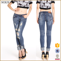 China manufacturers jeans brands tops and jeans photos