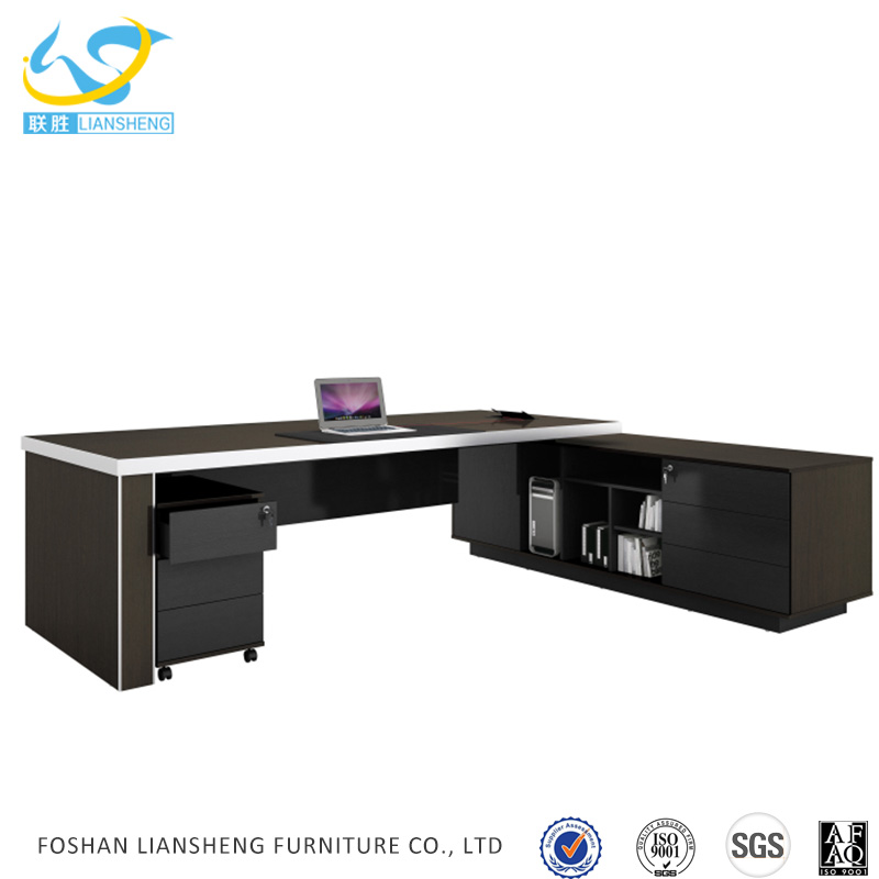Factory selling computer director table size office furniture description