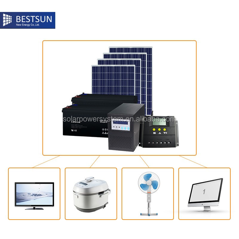 BESTSUN home solar panel kit solar panel mounting brackets solar kit BFS-1000W