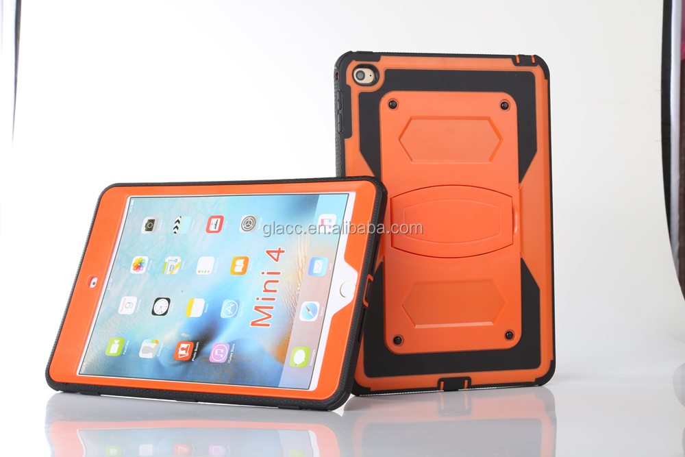 Wholesale low price super shell case holister defender case for Ipad Mini 4