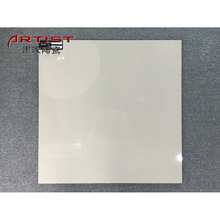 Spanish Vitrified Tiles White Design Pure Color Floor Unglazed Polished Tile