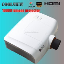 high brightness 10000 lumens full HD 1080P overhead projector price