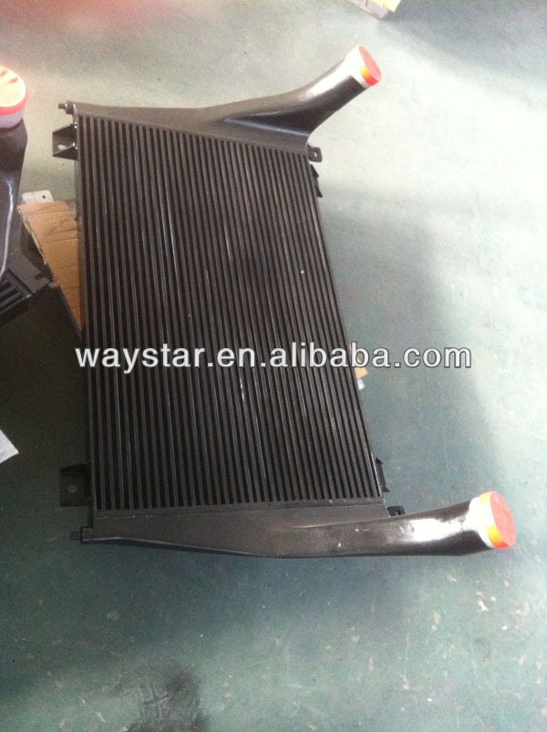 high performance intercooler for peterbilt truck bar plate intercooler for Peterbilt truck 320/379 series