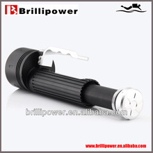 Brillipower led torch light manufacturers diving LED torch bright light torch rechargeable