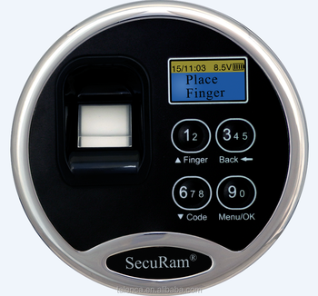 Biometric Fingerprint Safe Lock