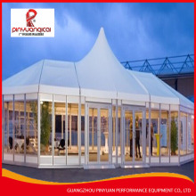 Cheap outdoor exhibition event large warehouse circus polygon tent for sale