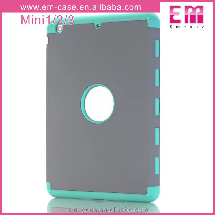 Shockproof Armor Combo Rugged Cover for iPad Mini 2 3 4 Case