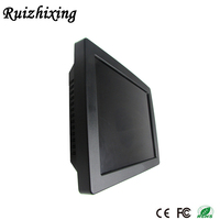 15 /17 inch 5-wire resistive touch screen cash register wall hanged pos system
