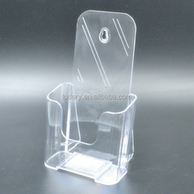 Acrylic Plastic Book Holder Stand Clear Acrylic Front Covered Open Book Stand
