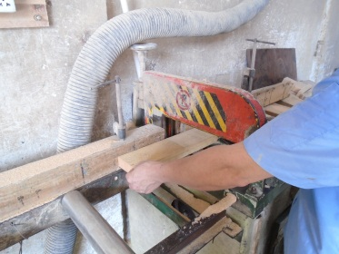 Raw material sawing