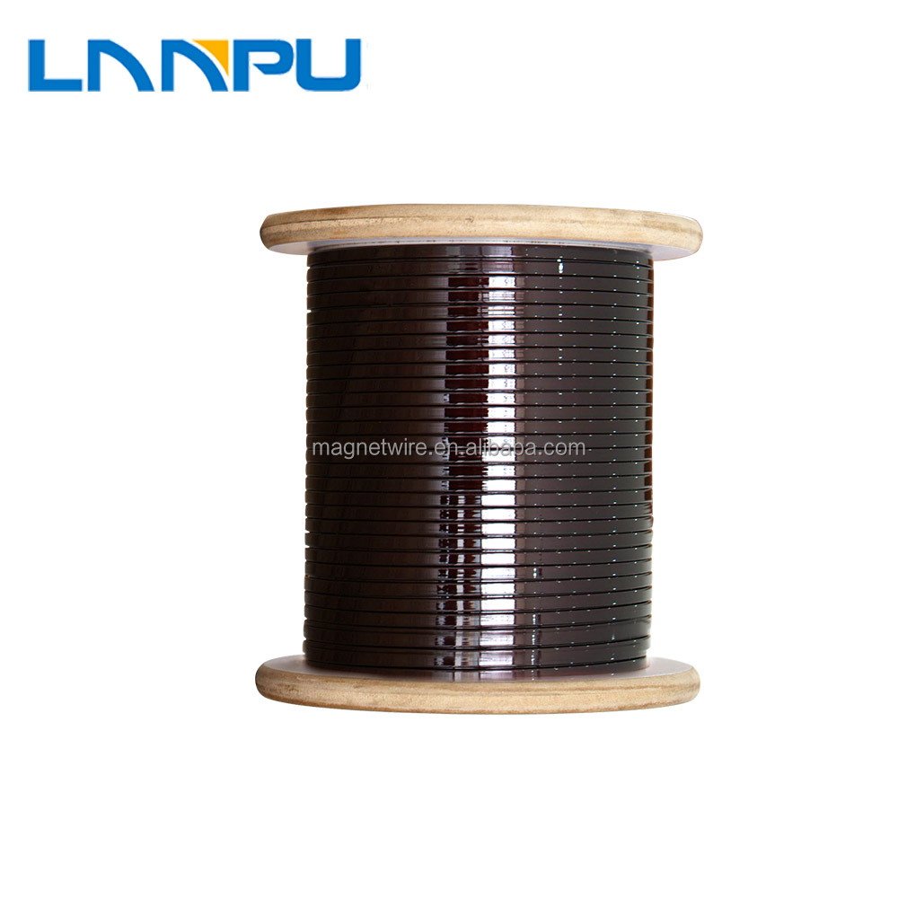 ISO14001 certification enamelled aluminum square magnet wire malaysia