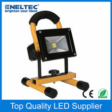 Multifunctional portable 20w battery powered led flood lights