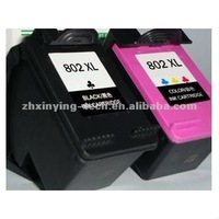 Hot sale refillable inkjet cartridge used for HP 802 refill machine