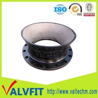 Sand Casting Ductile Iron Pipe Fitting Bellmouth flange socket end