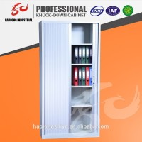 China made steel cabinet/roller shutter door office cabinet/tambour door filing cabinet