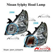 Sylphy head lamp, Head lights for Nissa Sylphy 2006-2012