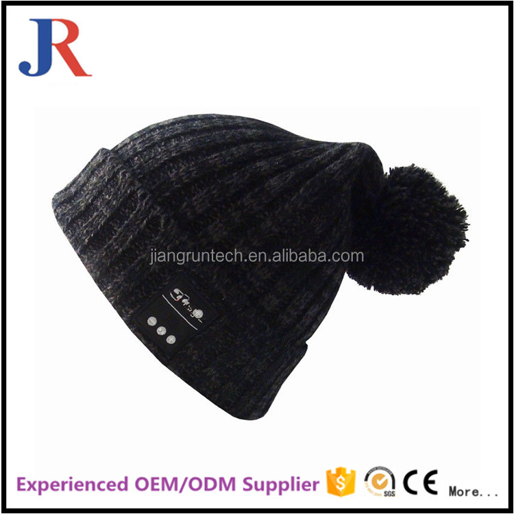 High Quality custom women Bluetooth Beanie Hat With Headphone