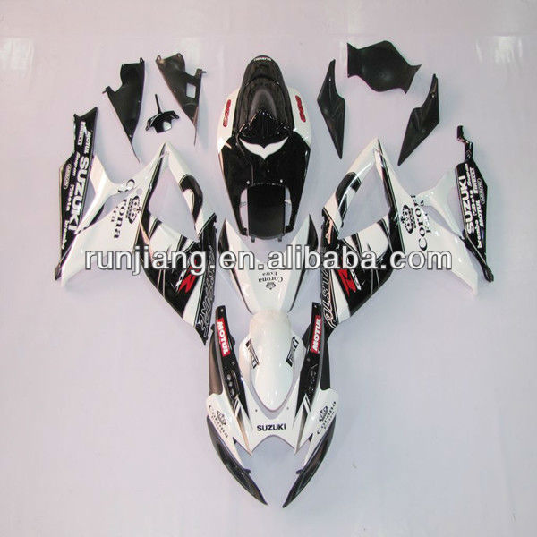 China factory SUZUKI GSXR 6000 K6 ABS fairing kit / motorcycle spare parts