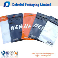 food grade custom printing factory price resealable zip top cellophane bags wholesale
