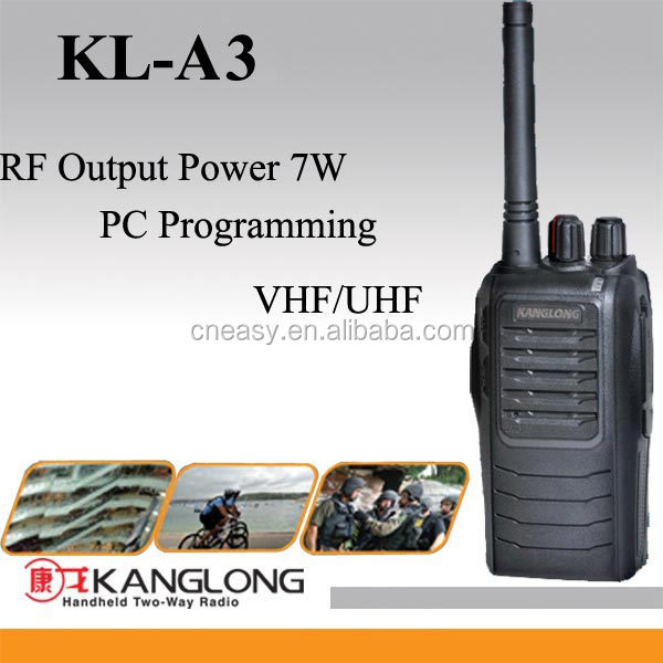 Good quality 7W 16channel uhf business two way radio KL-A3