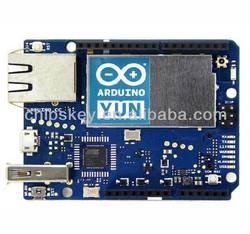 Yun Microcontroller processing system compatible Arduino