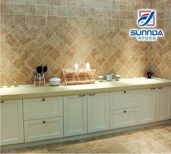 Cheap building materials tiles commercial kitchen floor for Cheap house materials