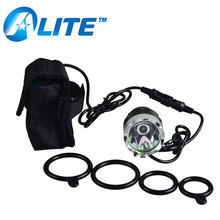 rechargeable Bike Light 8400mah xml T6 led aluminum bicycle head lamp