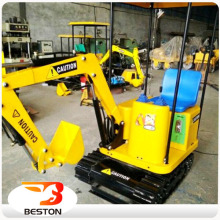 kids ride on toy excavator amusement children excavator game machine for children