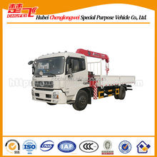 Dongfeng truck mounted crane for sale