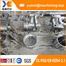 TUV certificate customized forging CNC machining parts/pallet adapter With rich factory experience