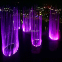 Chinese outdoor led music dancing water pump fountain with digital swing
