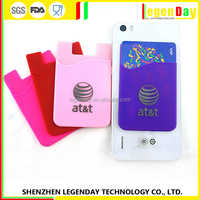 Wholesale Mobile Phone Smart Wallet ,Silicone Mobile Phone Card holder
